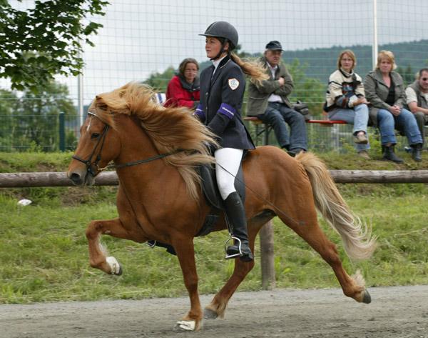Silvia und Blivar beim WM Qualifikationsturnier in Kaufungen 2007  (Foto: Daniela Kaminski: www.fotoagentur-dk.de