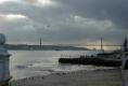Am Hafen in Lissabon