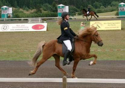 Silvia und Blivar auf der Deutschen Meisterschaft 2006