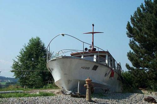 Hof Hafnersholt - Hausboot