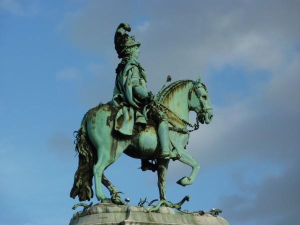 Reiterdenkmal Lissabon