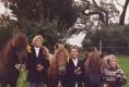 ein Bild aus früheren Zeiten: Silvia, Julian und Ina Ochsenreiter